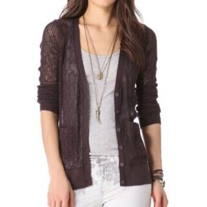 Free People Gauzy Cardigan